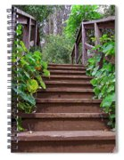 Stairway To Beauty Spiral Notebook