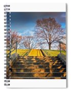 Stairway To Federal Hill Spiral Notebook