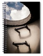 Stairway To Heaven - Inside Out Spiral Notebook