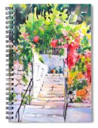 Stairway To Paradise Spiral Notebook