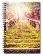 Stairway To The Garden Spiral Notebook