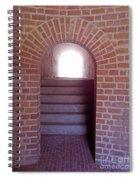 Stairway To The Sun Spiral Notebook