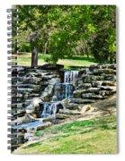 Stairway To Water Spiral Notebook