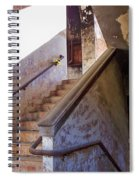 Stairway To Yesterday Spiral Notebook
