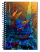 Stairway Upon Grail Passeges Spiral Notebook
