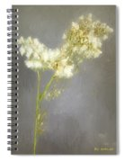 Stalk Of Pearls Spiral Notebook