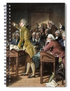 Stamp Act: Patrick Henry Spiral Notebook
