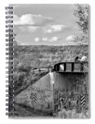 Stand By Me - Paint Bw Spiral Notebook