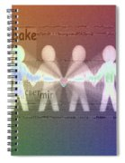 Stand Together In Peace Spiral Notebook