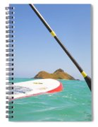 Stand Up Paddling Spiral Notebook