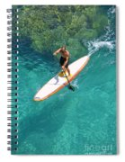Stand Up Paddling II Spiral Notebook