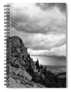 Standing Against The Storm Spiral Notebook
