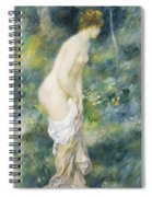 Standing Bather Spiral Notebook