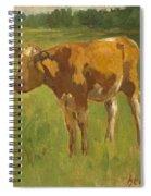 Standing Calf Spiral Notebook