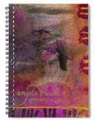 Standing In The Wind Spiral Notebook