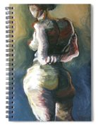 Standing Nude I Spiral Notebook
