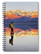 Standing On Water Spiral Notebook