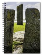 Standing Stones Of Stenness Spiral Notebook