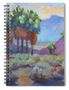 Standing Tall At Thousand Palms Spiral Notebook