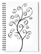 Standing Tall - Inverted  Spiral Notebook