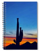 The Saguaro King Spiral Notebook
