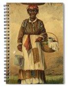Standing Woman Spiral Notebook