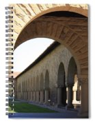 Stanford Memorial Court Arches I Spiral Notebook