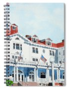 Stanley Hotel Two Spiral Notebook