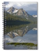 Stanley Lake Reflections Spiral Notebook