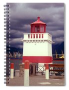 Stanley Park Lighthouse Spiral Notebook