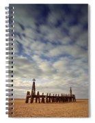 St.annes Beach, Lancashire, England Spiral Notebook