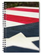 Star And Stripes Spiral Notebook