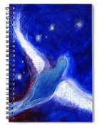 Star Bird Spiral Notebook
