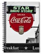 Star Drug Store Spiral Notebook