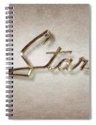 Star Emblem Spiral Notebook