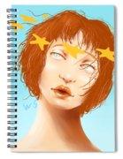 Star Eyed Spiral Notebook