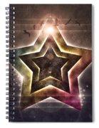 Star Lights Spiral Notebook