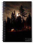 Star Lit Camp Spiral Notebook