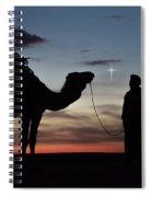 Star Of Bethlehem Spiral Notebook