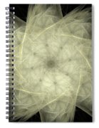 Star Of The Future Spiral Notebook