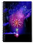 Star Of The Night Spiral Notebook