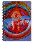 Star Of The Sea Spiral Notebook