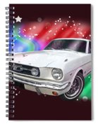 Star Of The Show - 66 Mustang Spiral Notebook