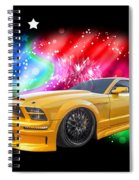 Star Of The Show - Mustang Gtr Spiral Notebook
