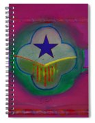 Star Of Venice Spiral Notebook