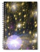 Star Particles Spiral Notebook