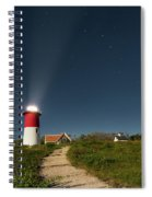 Star Search Square Spiral Notebook