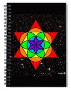 Star Seed Spiral Notebook