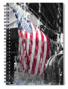 Star Spangled Splash  Spiral Notebook