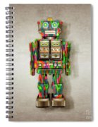 Star Strider Robot Psyc Spiral Notebook